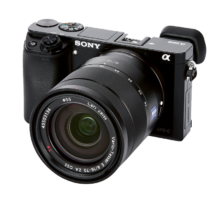 Sony Alpha 6000 front